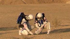 Mars-Mission in der Wüste: In Israel simulieren Forscher das Leben auf dem roten Planeten