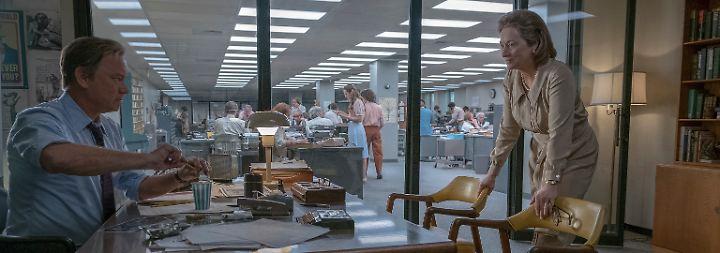 """Spielbergs """"Fuck You"""" für Trump: """"Die Verlegerin"""" feiert die Pressefreiheit"""