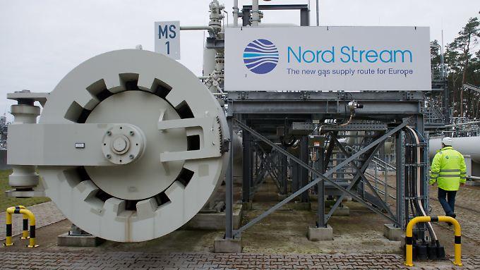 Die Rohre der Nord Stream 2 sollen parallel zur bereits bestehenden Nord-Stream-1-Pipeline durch die Ostsee verlegt werden.