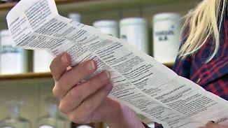 Keine Angst vor Nebenwirkungen: Bei Beipackzetteln für Medikamente sind die Deutschen lesefaul