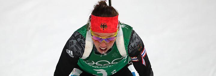 Gold-Biathletin außer Gefecht: Dahlmeier legt lange Wettkampfpause ein