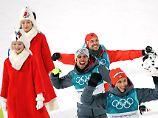 Rydzek, Rießle und Frenzel: Kombinierer feiern dreifachen Olympia-Erfolg