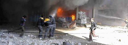 Bodenoffensive erwartet: Dutzende Zivilisten sterben in Ost-Ghuta