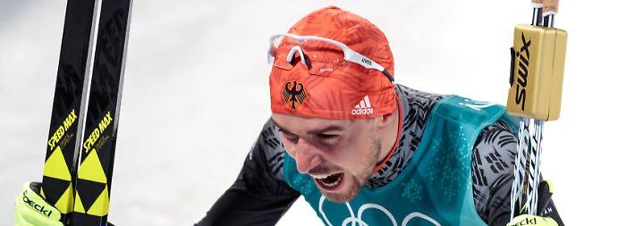 Tag elf in Olympia-Bildern: Nordische Dominierer und Biathlon-Pech