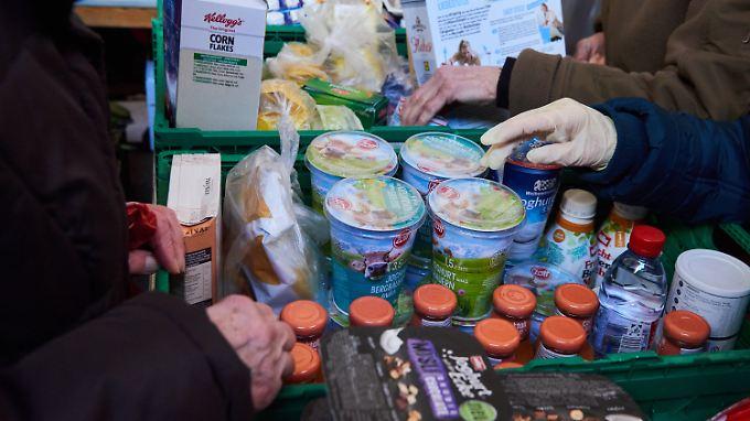 Die Lebensmittel sollen an jene gehen, die sie sich nicht leisten können.
