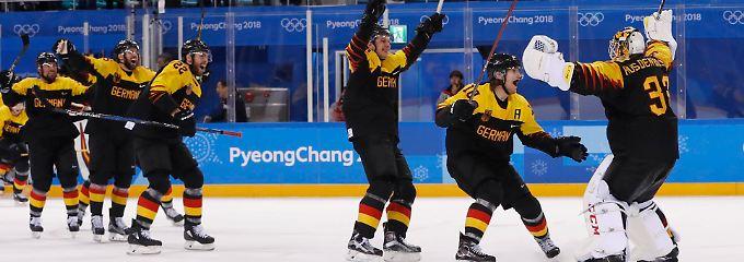 Der Wahnsinn auf dem Eis geht für Deutschland weiter.