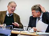 Berlin: Die beiden Parteivorsitzenden der AfD, Alexander Gauland (l) und Jörg Meuthen,