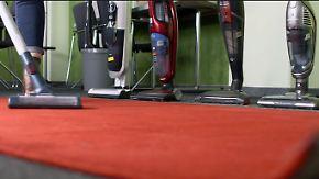 n-tv Ratgeber: Akku-Sauger hinterlassen staubigen Eindruck