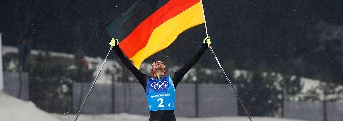 Rekord-Sieg mit Riesenvorsprung: Kombinierer dominieren sich zu Gold