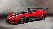Als 430 wird der Lotus 3-Eleven zum Kraftpaket.