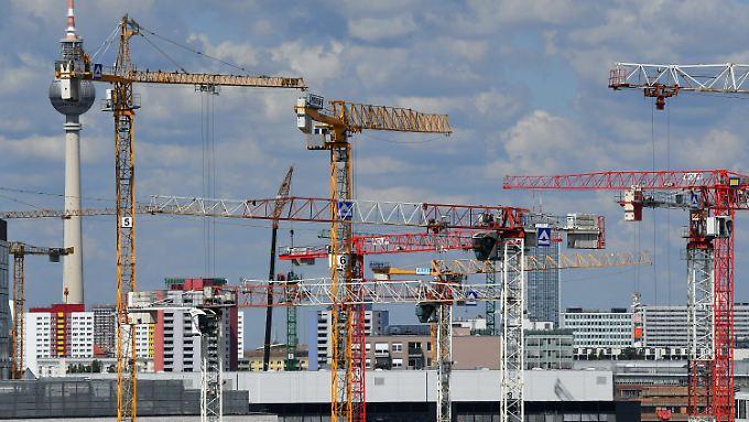 Die Baubranche rechnet für dieses Jahr mit einem weiteren Wachstum.