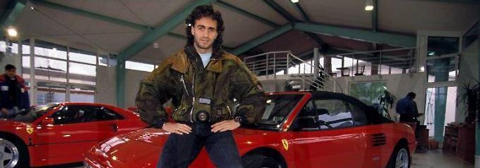 Redelings über die Saison 94/95: Fußballstar wird in TV-Sendung verhaftet
