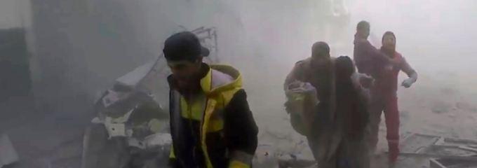 30 Tage Feuerpause in Syrien: UN-Sicherheitsrat fordert Waffenruhe
