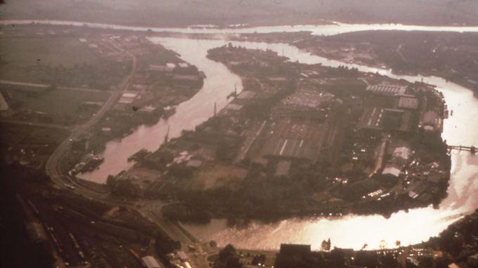 War vor 30 Jahren noch eine echte Industriestadt: Leer
