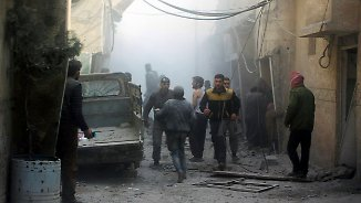 Resolution ohne Druckmittel: Sicherheitsrat fordert baldige Feuerpause in Syrien