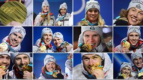 """31 Mal olympisches Edelmetall: """"Team D"""" feiert Wintermärchen in Pyeongchang"""
