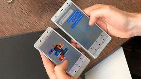 Neues Smartphone-Flaggschiff XZ2: Sony macht Schluss mit Ecken und Kanten