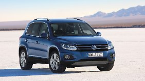 Dieselskandal hin oder her, der VW Tiguan belegt weltweit Platz drei im Bestseller-Ranking.
