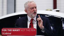Der britische Oppositions-Chef Jeremy Corbyn strebt nach dem Brexit enge Handelsbeziehungen mit der EU an.