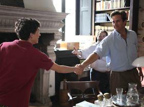 """Timothée Chalamet (l.) und Armie Hammer spielen die Hauptrollen in """"Call Me By Your Name""""."""