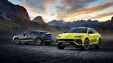 Urus heißt das neue SUV-Modell von Lamborghini.