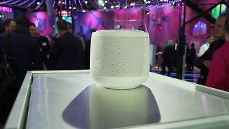 """Konkurrenz für Alexa und Co.?: Telekom präsentiert smarten Lautsprecher """"Magenta Speaker"""""""