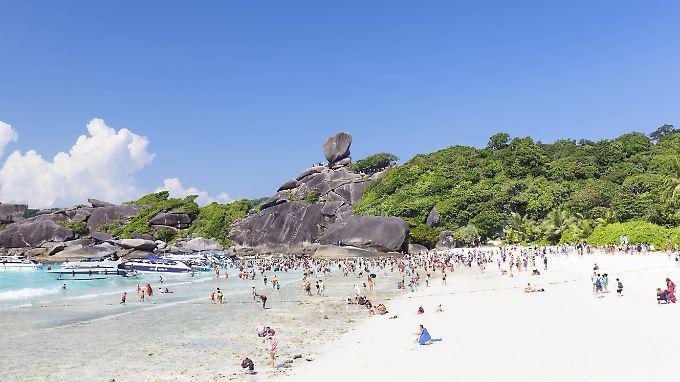 In diesem Jahr erwartet Thailand 37 Millionen Touristen.