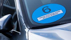Kommunen vor Belastungen: Bund denkt über blaue Plakette nach