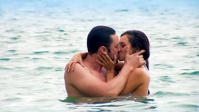 Da könnte wirklich was gehen: Daniel und Kristina.