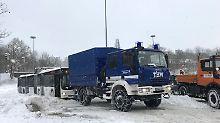 Zwei Menschen sterben: Winter nimmt Flensburg in die Zange