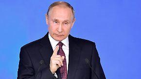 """""""Satan 2"""" ist Kampfansage an die USA: Putin präsentiert neue Raketen"""