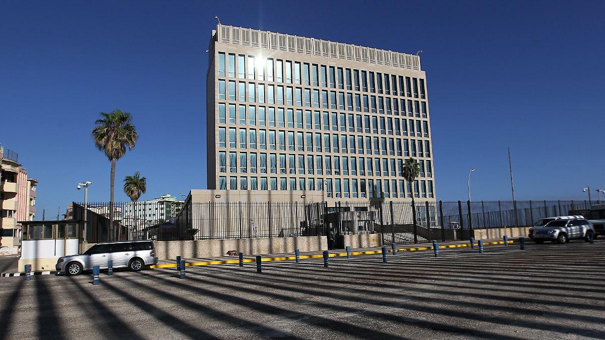 USA schrumpfen Botschaft in Havanna