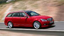 Kein Rost, aber kleine Schwächen: Mercedes C-Klasse - ein echter Dauerläufer