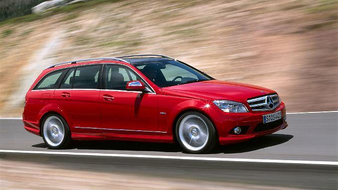 Als Kombi ist die Mercedes C-Klasse besonders beliebt.