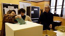 Weichenstellung im Süden Europas: Parlamentswahl in Italien läuft