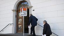 Volksabstimmung in der Schweiz: Eidgenossen sagen Ja zur Rundfunkgebühr