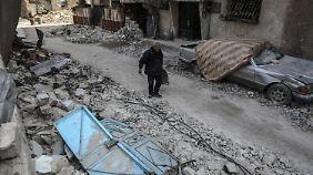 400.000 Menschen eingekesselt: Bombenangriffe auf Ost-Ghuta werden heftiger