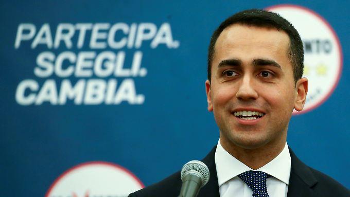 Der 31 Jahre alte Luigi Di Maio, Spitzenkandidat der Fünf-Sterne-Bewegung, ist der Wahlsieger.