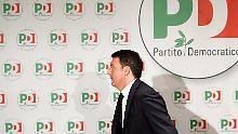 Abschied nach Wahlschlappe: Ex-Premier Renzi gibt Parteispitze ab