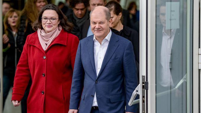 Olaf Scholz wird wohl Vizekanzler und Finanzminister.