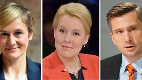 Drei Frauen, drei Männer: Diese Namen möglicher SPD-Minister kursieren