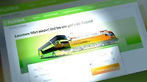 Ernste Konkurrenz für Deutsche Bahn?: Flixbus steigt ins Zuggeschäft ein