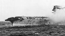 """Gesunken im Zweiten Weltkrieg: Milliardär findet """"USS Lexington"""""""