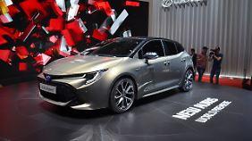 In Genf geht auch die nächste Generation des Toyota Auris an den Start.