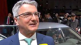 """Rupert Stadler im n-tv Intverview: """"Kunde wird vom Elektroauto hellauf begeistert sein"""""""