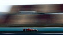 Fünfter Testtag in Barcelona: Vettel rast im Ferrari zur Bestzeit