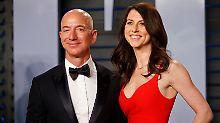 Trump rutscht weiter ab: Bezos deklassiert die Milliardäre