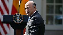 """""""Viele Menschen wollen den Job"""": Trump verliert Wirtschaftsberater Cohn"""