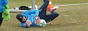 Jonathan Klinsmann trainiert fleißig, muss sich aber Kritik seiner Trainer gefallen lassen.
