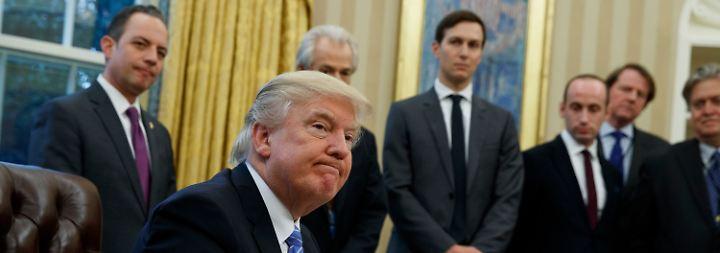 Strafzölle auf Stahl und Aluminium: Trump droht EU, Berater rudern zurück